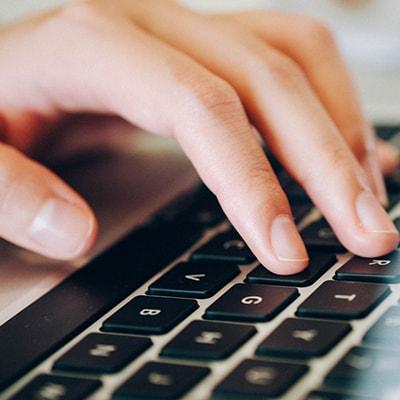 Current account benefit digital computer laptop