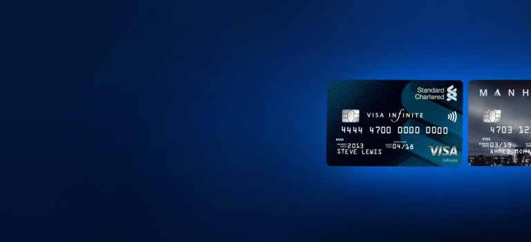 Apply for any VISA credit cards* and get a Samsung S8 or an iPad guaranteed.