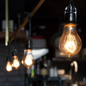Savings account benefit light bulb savings insurance