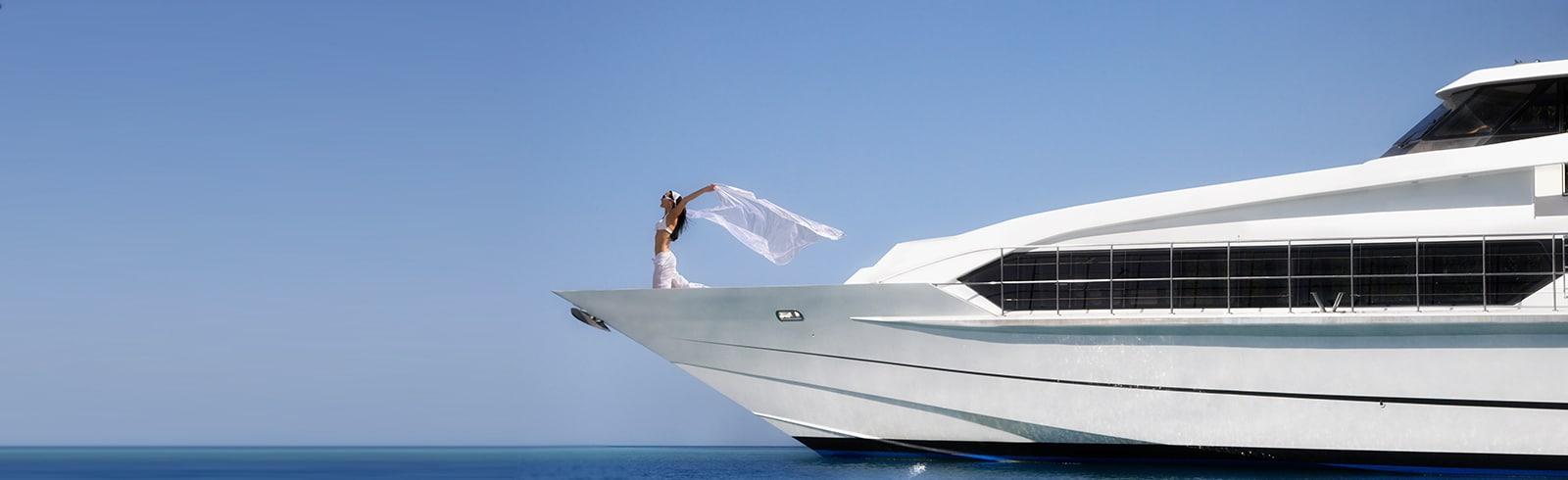 Smart payment plan masthead lifestyle sea woman yacht water free