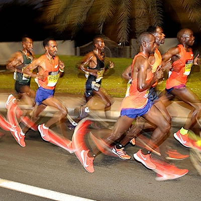 Ae km marathon run