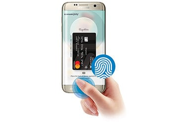 Standard Chartered Samsung Pay Step 2
