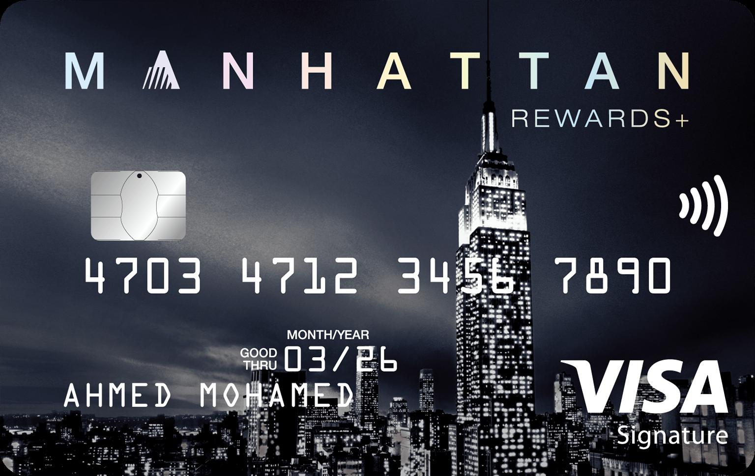 Manhattan Rewards + Credit Card