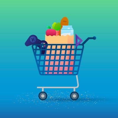Shopping Cart, Basket, Shopping Basket