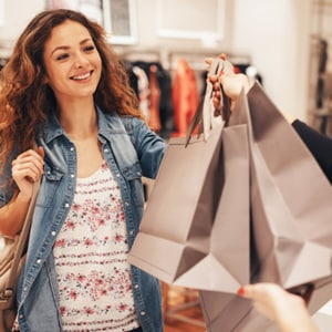 Earn rewards for shopping
