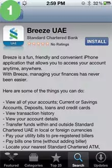 SC Mobile Guide for iPhone – Standard Chartered UAE