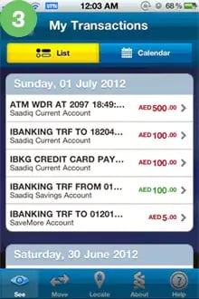 My Transactions 3