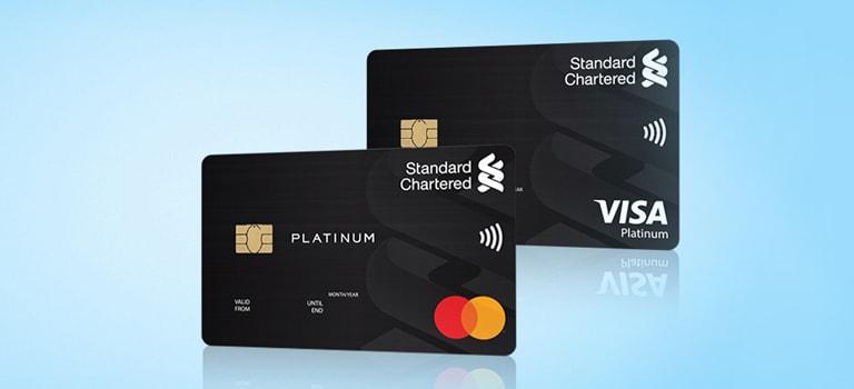 Platinum Visa/MasterCard Credit Card