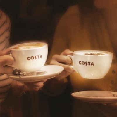 Enjoy Buy-1-get-1 offer at Costa Coffee