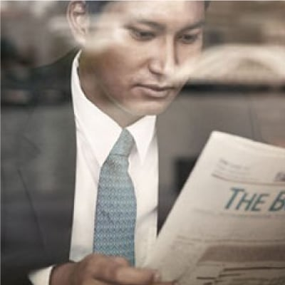 Text, Newspaper, Person