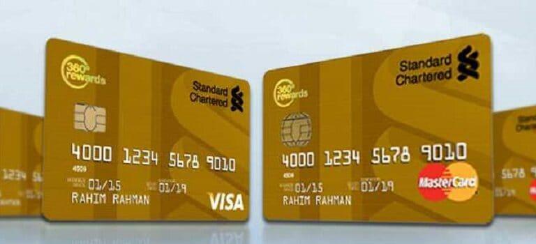Visa / Mastercard Gold Card