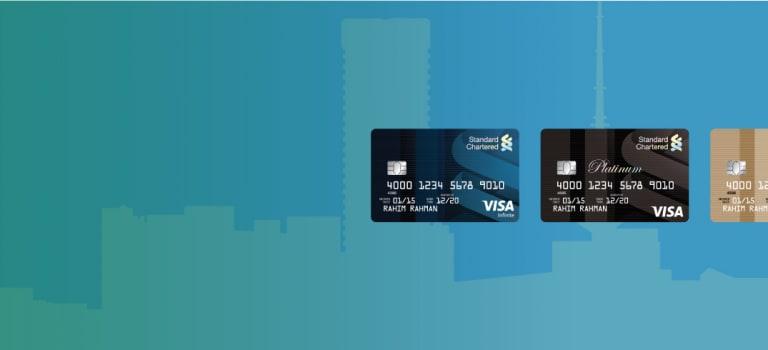 Visa Credit Card Banner