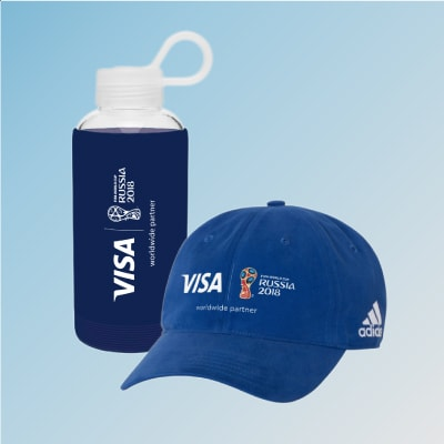 Karma Water Bottle and Adidas Cap