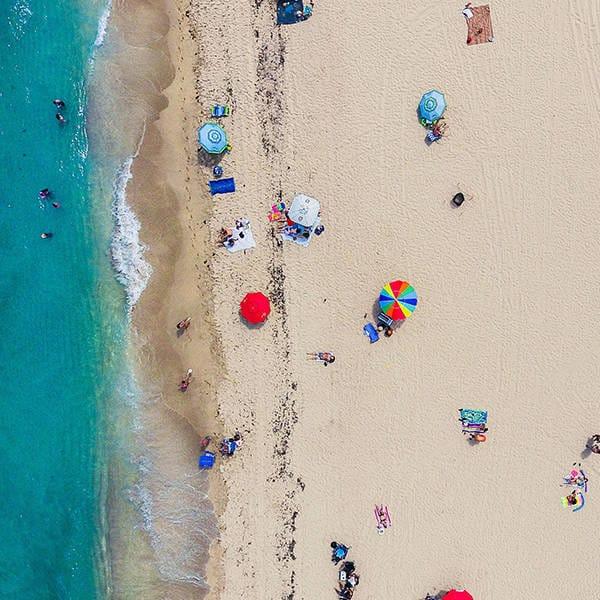 Grid beach x