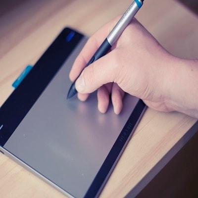 Cn creative hand draw sign
