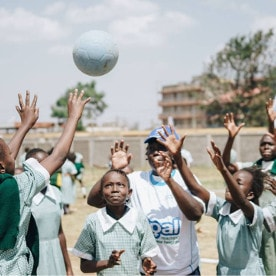 Goal empowering girls