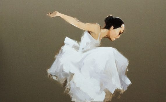 Painting of dancer