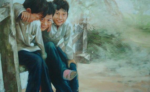 Bui Van Kien ©, Childhood, 2010