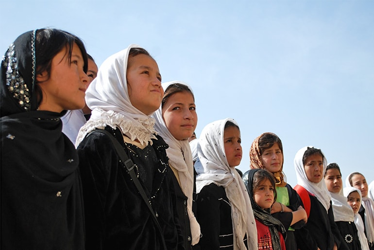 Educating girls can change the world