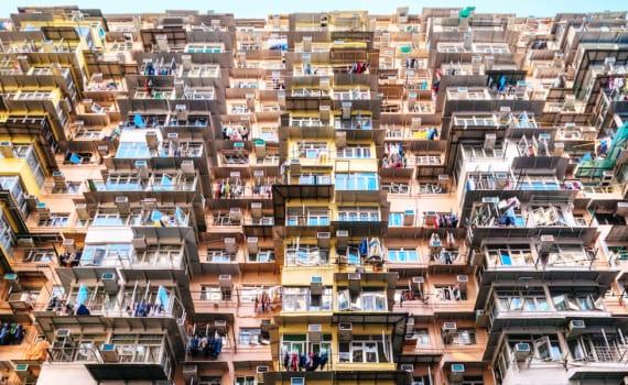 Hong Kong subdivided flats