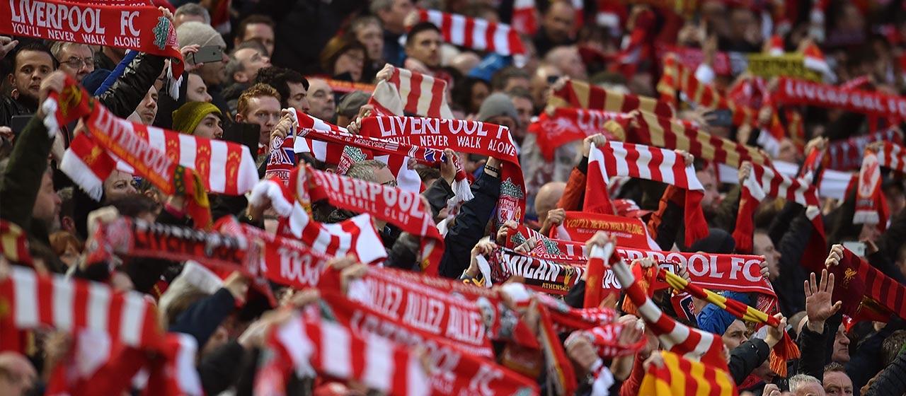 Liverpool football fans