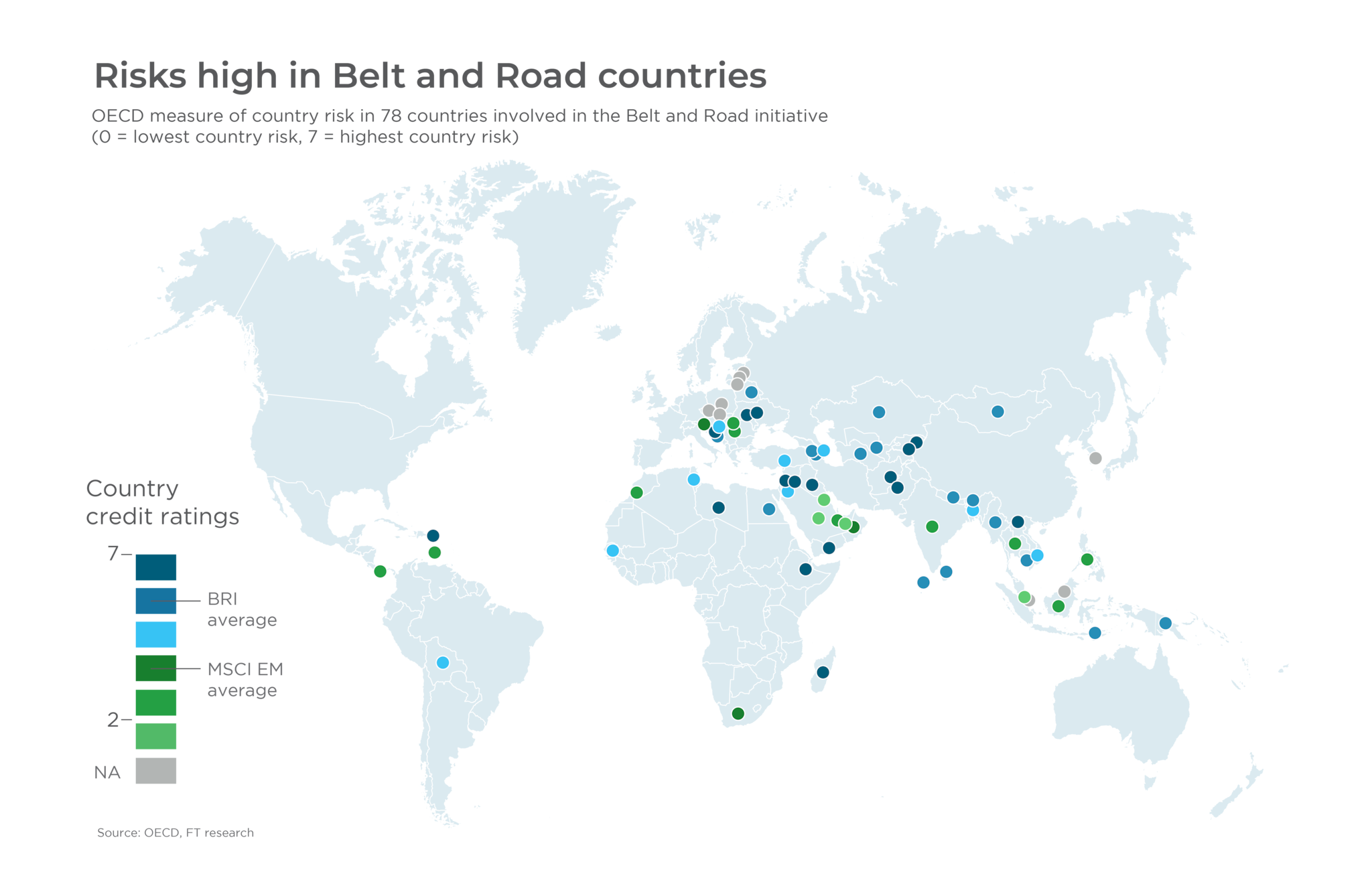Risks high in Belt and Road countries