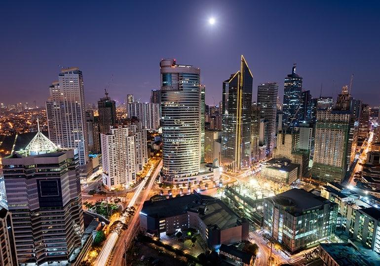 Philippines Skyline