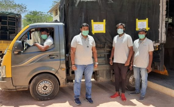 Solv workers during COVID-19 pandemic