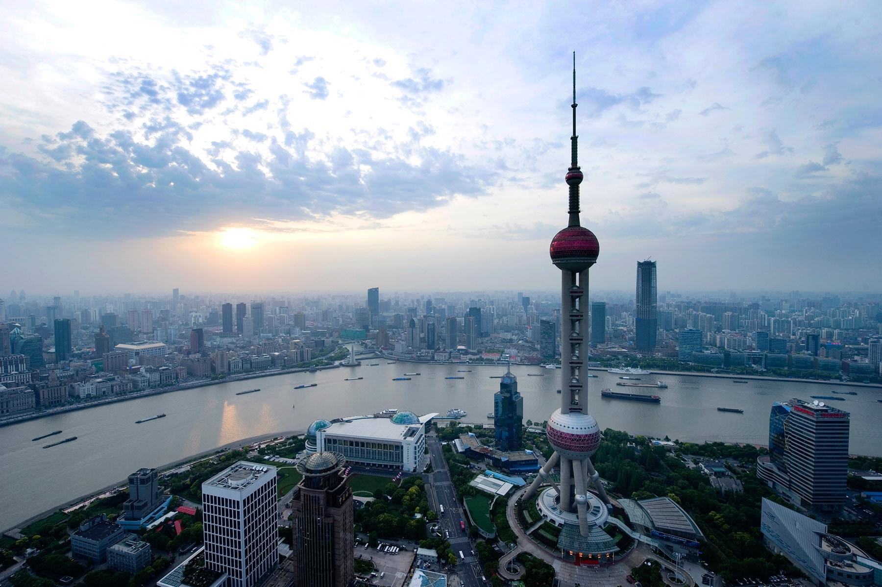 Shanghai cityscape header