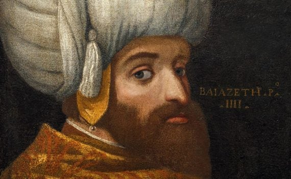 School of Veronese (1528–1588), A Portrait of Sultan Bayezid I. Oil on canvas, c. 1580.