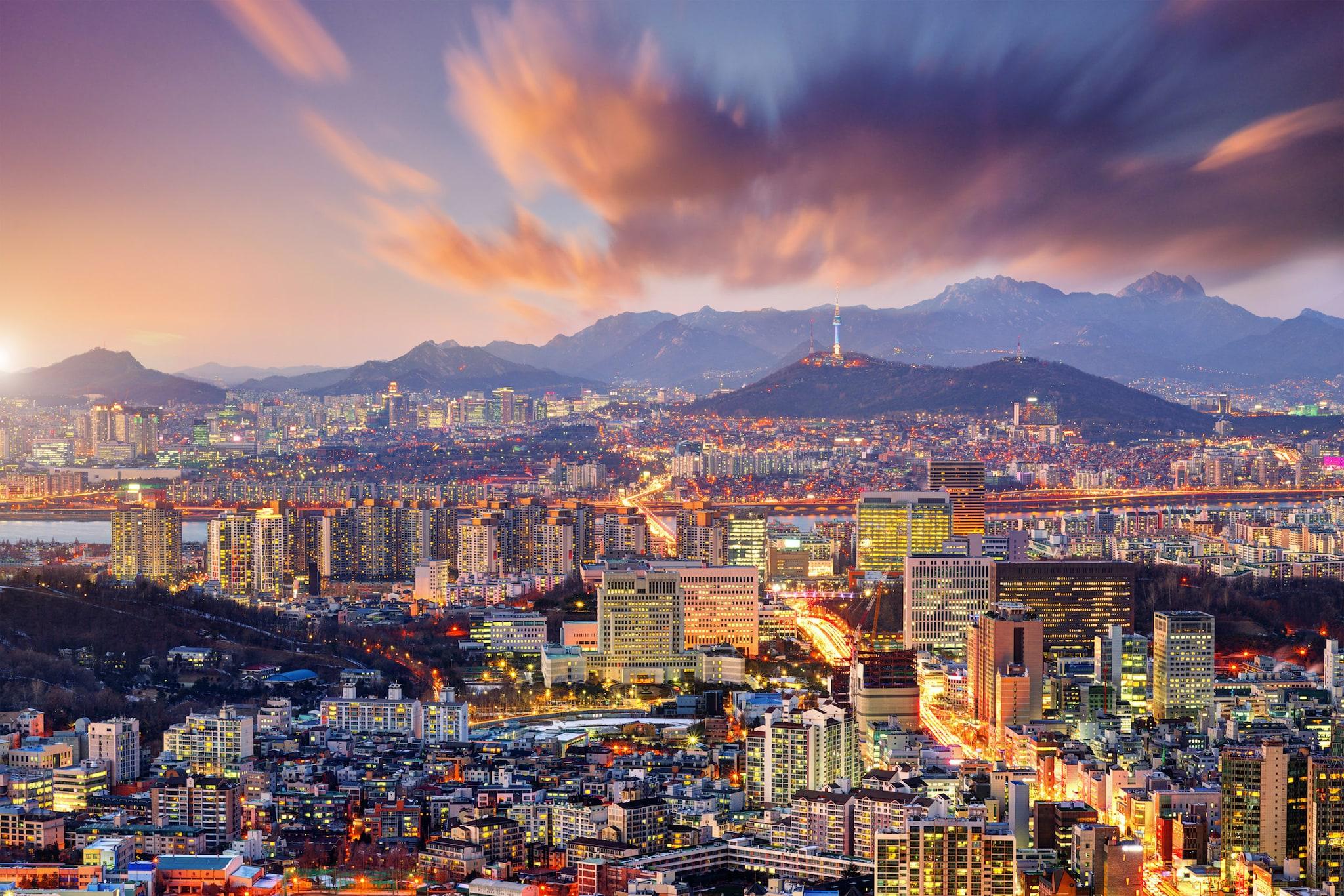South Korea - Downtown Seoul