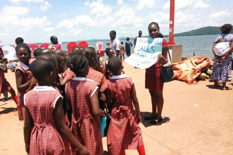 Women and climate change: Ugandan activist Hilda Flavia Nakabuye