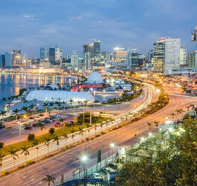 Skyline of Luanda