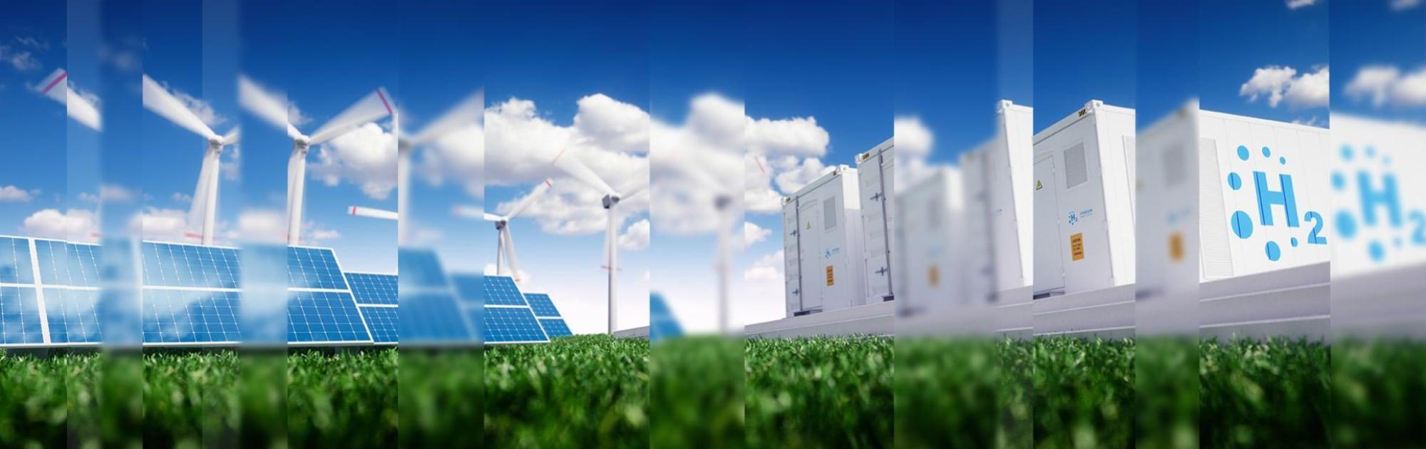 Solar, Wind and Hydrogen Power