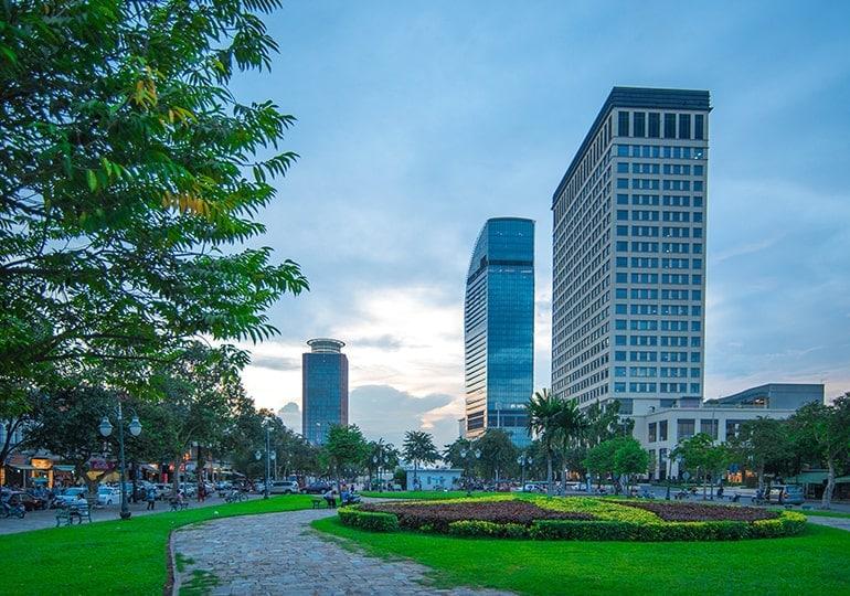 Cambodia Cityscape