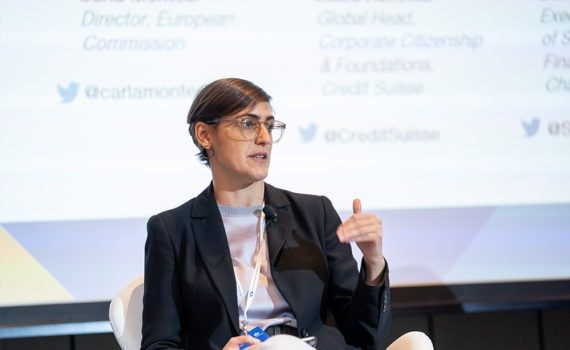 Women's World Banking panellist, Deniz Harut