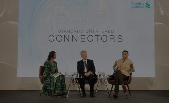 Standard Chartered Connectors panel