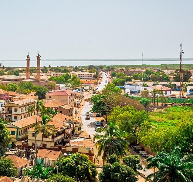 Panorama of Banjul, The Gambia