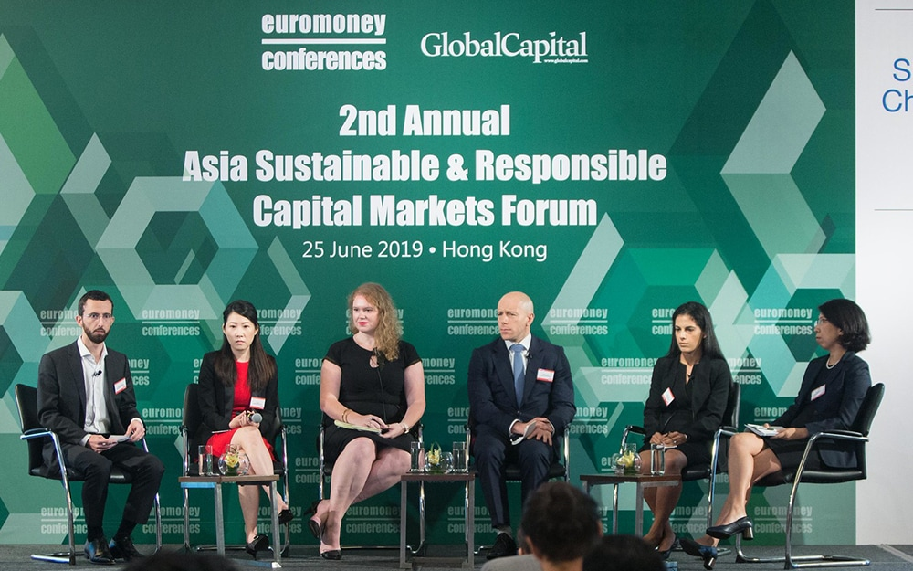 The Sustainable and Responsible Capital Markets Forum Asia in Hong Kong