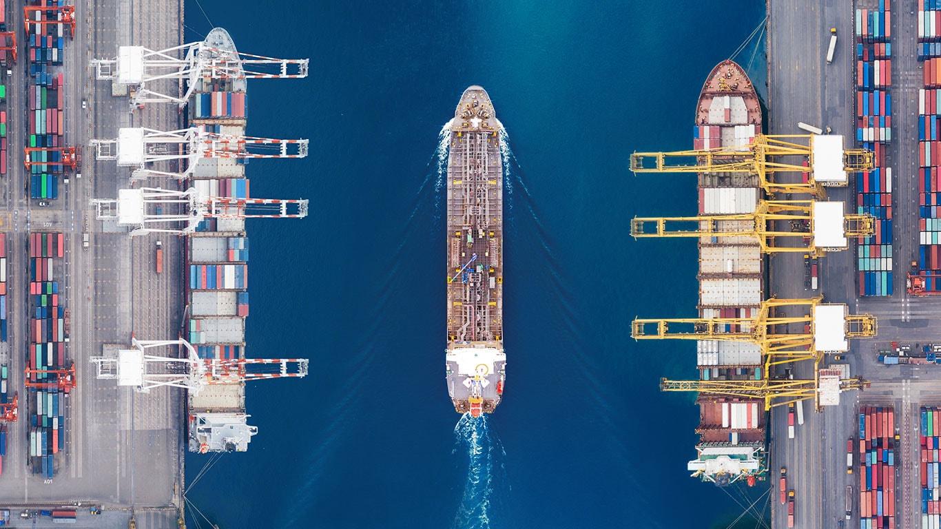 Trade shipments