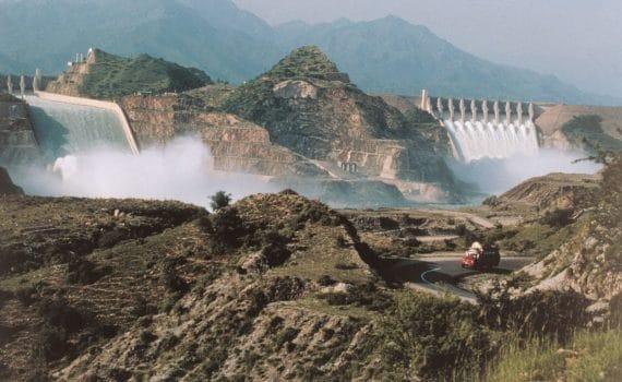 Tarbela Dam hydroelectric power, Pakistan