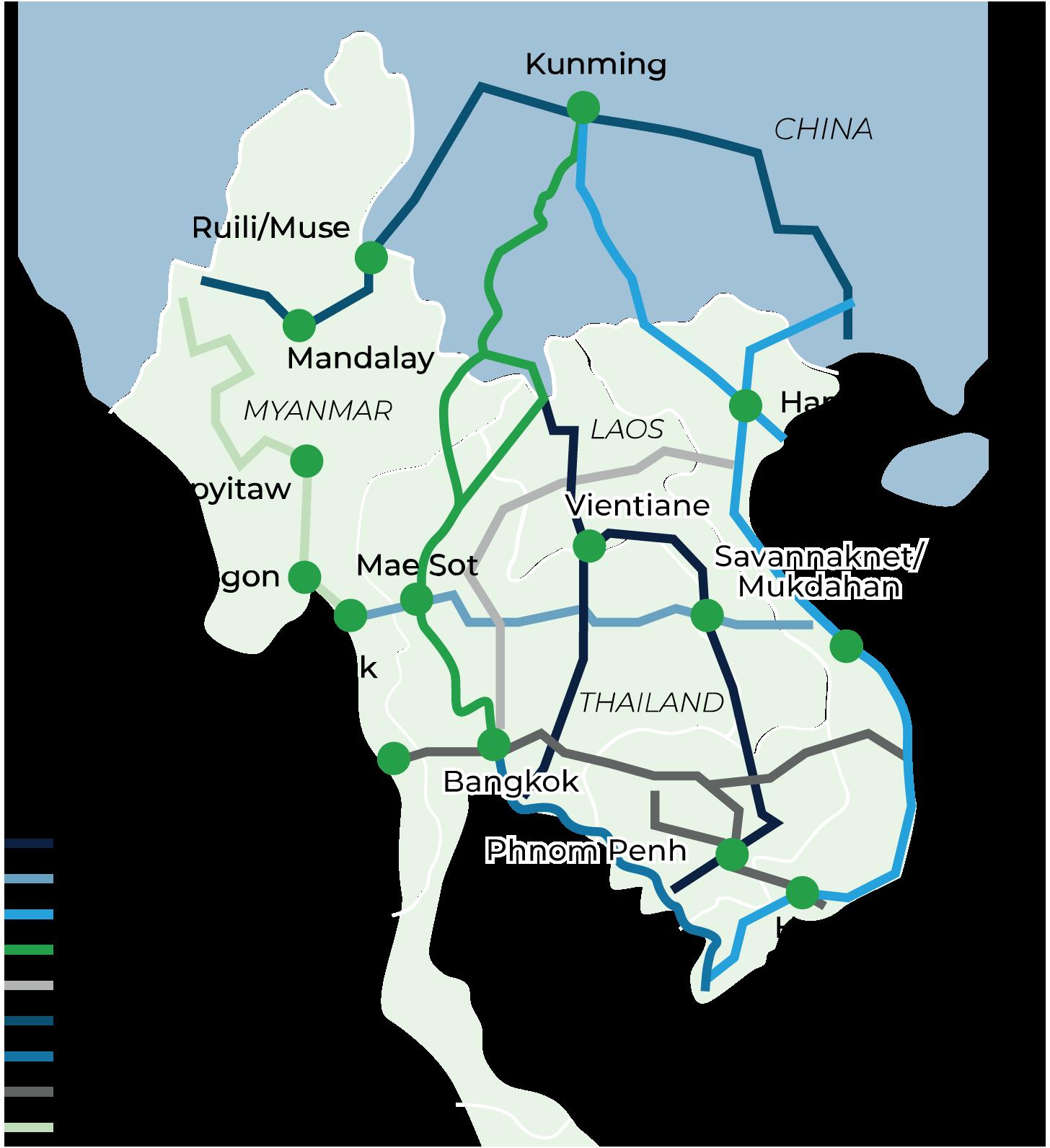China-Indochina Peninsula