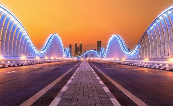 panoramic view of bridge