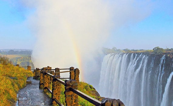 Victoria Falls at Zambia side
