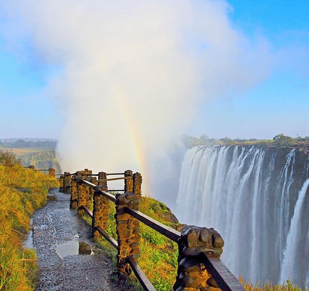 Victoria Falls at Zambia side