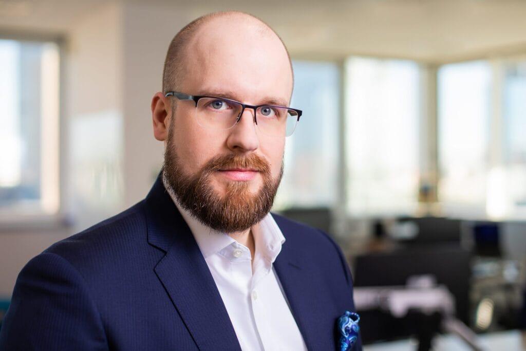Photo of Cezary Piekarski, Global Head of Cyber Security Services
