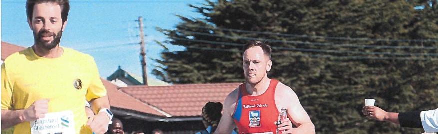 Falkland Islands Standard Chartered Stanley Marathon 2018