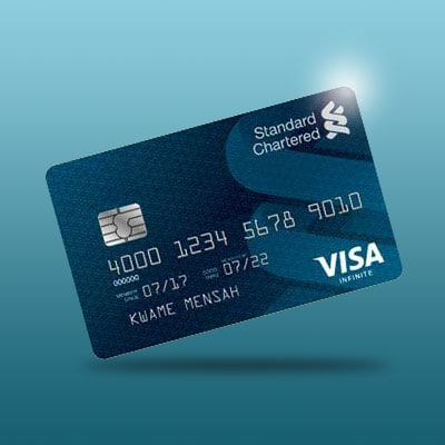 Gh visa infinite card platinum nw