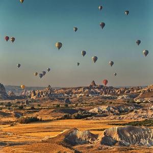 Time free hot air balloon sky mountain