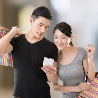 Shopping made more convenient with technology